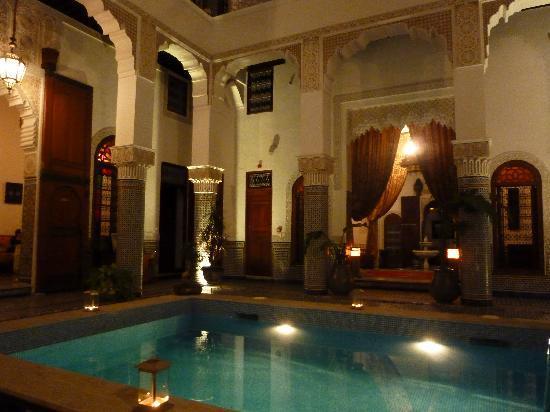 Riad el Amine Fes : Le Ryad de nuit 3
