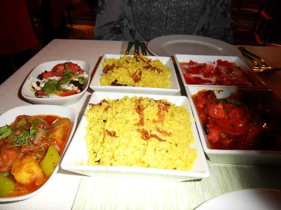 Taj Mahal curry - Marmaris - Picture of Marti Resort de Luxe, Icmeler ...
