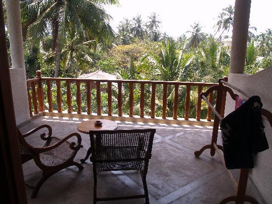 Wunderbar Beach Club Hotel: Luxury room balcony