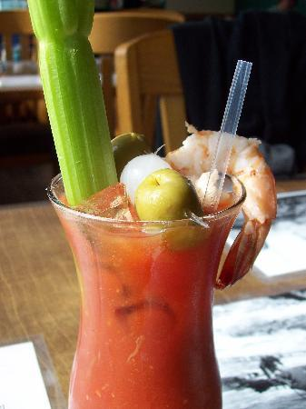 The Pier Chowder House & Tap Room: Bloody mary with sweet potato vodka