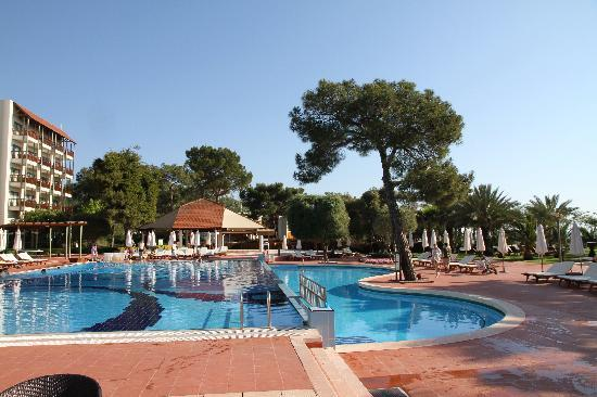 Club Med Palmiye: Hotel pool (one of the 4 pools..!)
