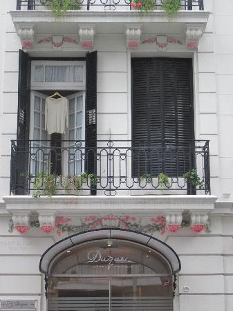 Duque Hotel Boutique & Spa: front of the hotel