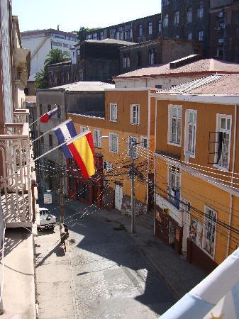 Hotel Da Vinci Valparaiso: Bien ubicado