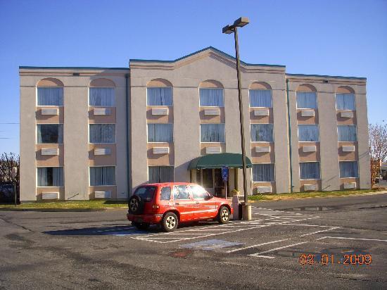 Comfort Inn Rehoboth Beach: Hotel por fora !