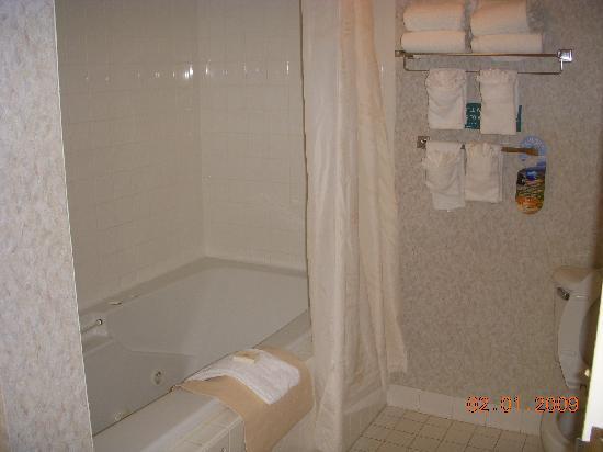 Comfort Inn Rehoboth Beach: banheiro completo .
