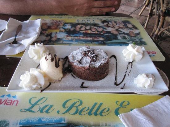 La Belle Epoque: Chocolate Soufflé