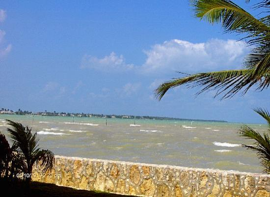 Corozal Town, Belize: view from our room