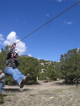 Salida, Κολοράντο: Ziplining at Captian Zipline