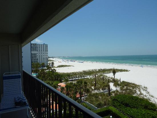 Gulf Beach Resort: View from the balcony #2