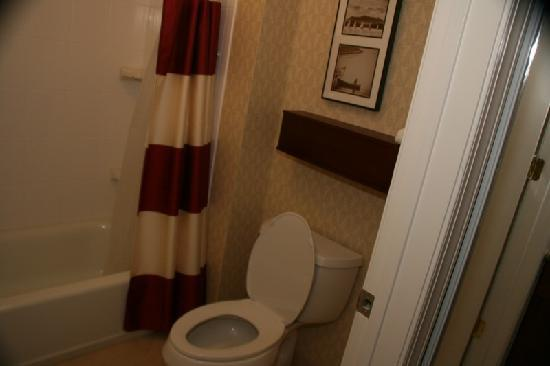 Residence Inn Florence: bathroom is spotless