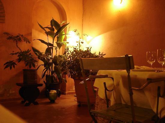 Trattoria Verdiana: particolare della sala interna