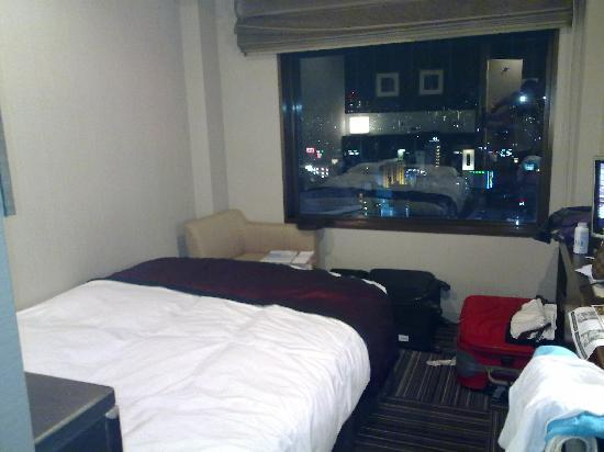 Shinjuku Prince Hotel: 17th floor room