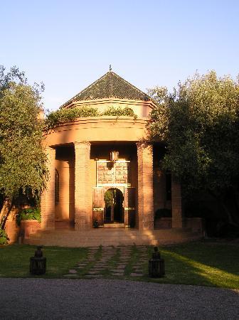 Dar Zemora : Entrance, evening