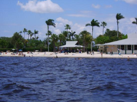 Public beach near Cape Coral Yacht Club