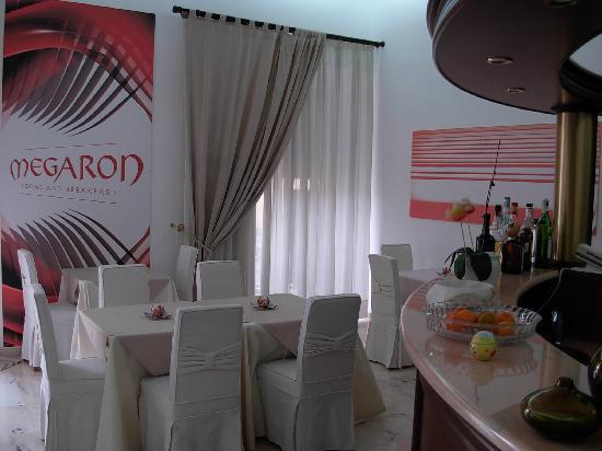 Megaron Bed and Breakfast : Breakfast area
