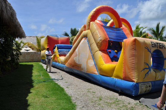 The Reserve at Paradisus Palma Real: Inflatable Waterslide in KidZone