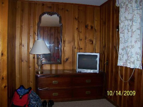Northeaster Motel: Room from bed