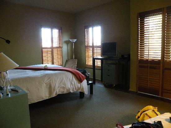 Hotel Healdsburg: our room