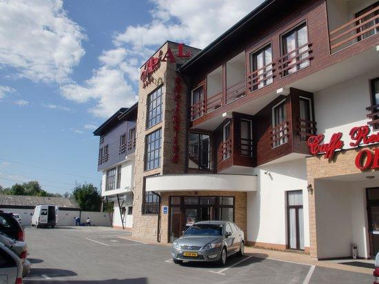 Bihac, Bosnia and Herzegovina: Hotel aanzicht