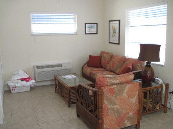 Sea Spray Resort on Siesta Key: Living Room
