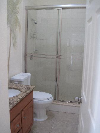 Sea Spray Resort on Siesta Key: Very nice shower