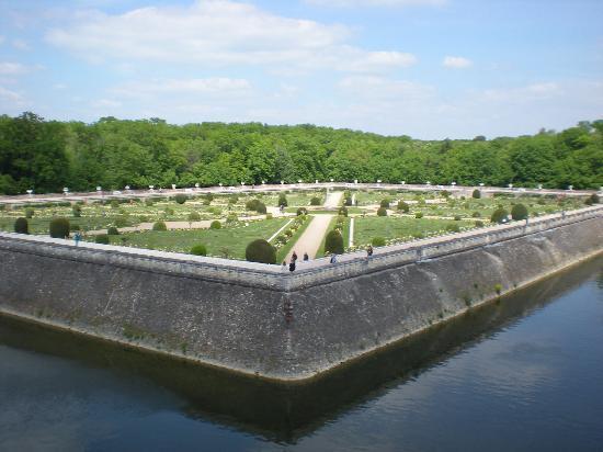 Chenonceaux, ฝรั่งเศส: Diane's garden