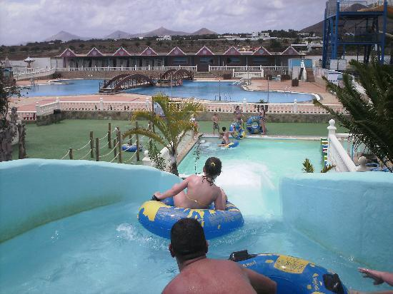 Aquapark Costa Teguise : Cold water