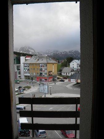Hotel Zabljak : Ausblick aus dem Zimmer