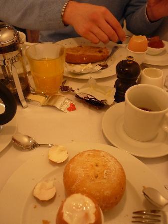 Walwyck Hotel Brugge: Le petit-déjeuner