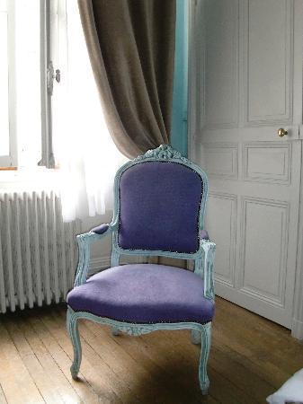 Chateau de La Tremblaye : Détail de la Chambre 19