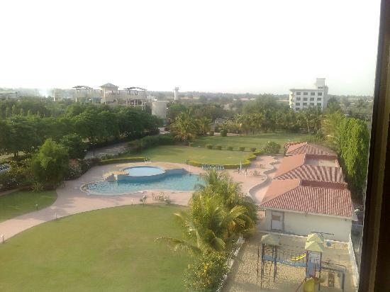 Shirdi, India: view from the room