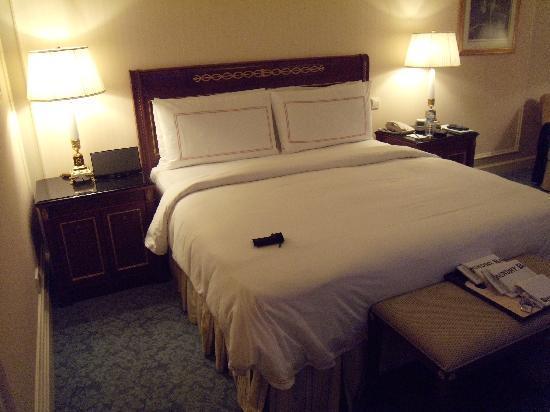 Four Seasons Hotel Doha: had a good sleep on this