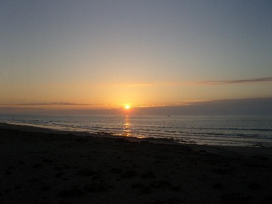 Tarfaya, Marocco: coucher de soleil