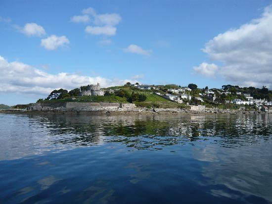 St Mawes, UK: From the ferry