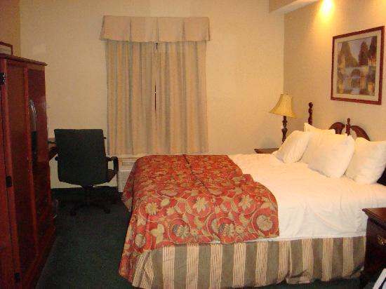 Quality Inn: King Bed room