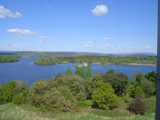Boyle, Irlanda: Scene from Lough Key Activity Park