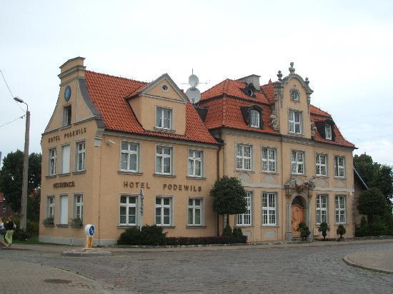 Podewils Hotel: Hotel building