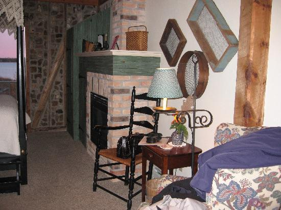 Baileys Harbor, WI: our room - #5 in the Zahn house