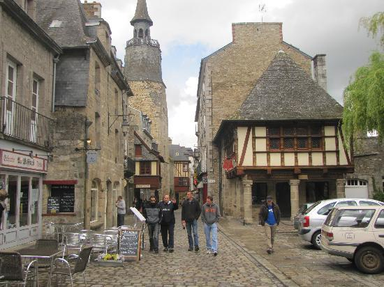 Heart of old city Dinan