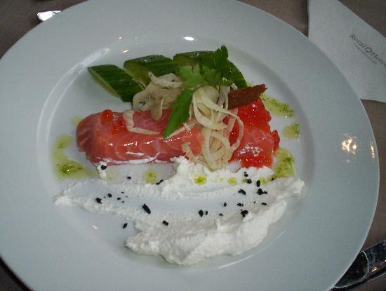 Park Inn by Radisson Kaunas: Smoked Salmon (appetizer)