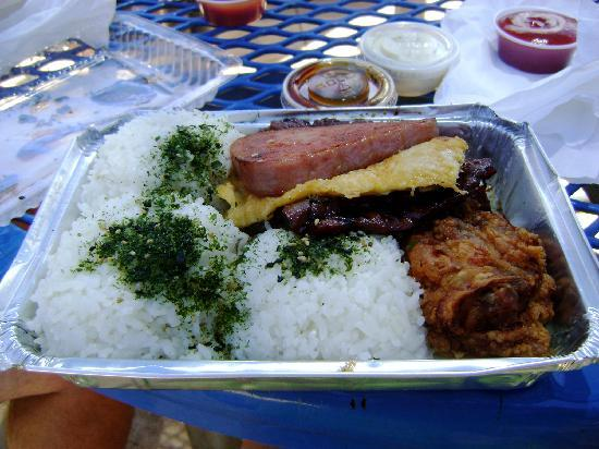 48b462cd35c8 Spam Lunch Plate - Picture of Ted s Bakery
