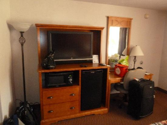 BEST WESTERN Travel Inn: TV, Microwave, Fridge