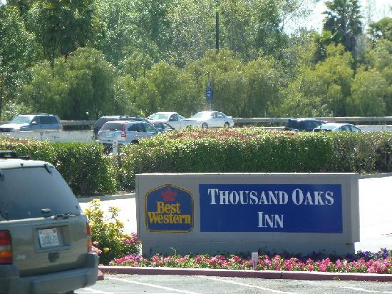 Best Western Plus Thousand Oaks Inn: Close to freeway, but quiet