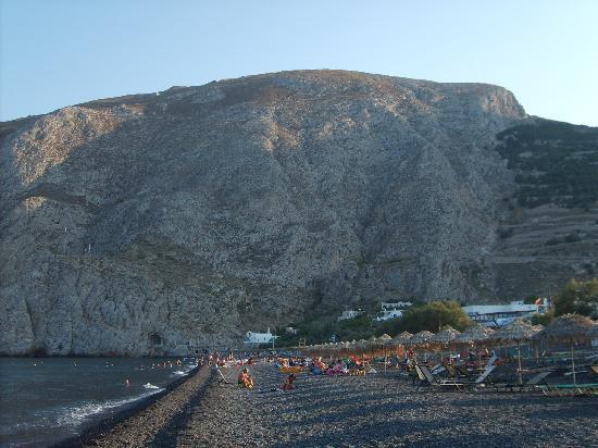 Selini Hotel: Kamari beach