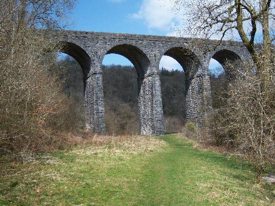 Merthyr Tydfil, UK: Pontsarn Viaduct