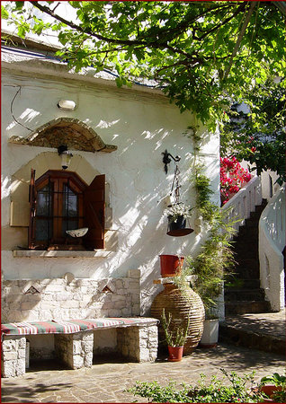 Georgioupolis, Greece: Innenhof