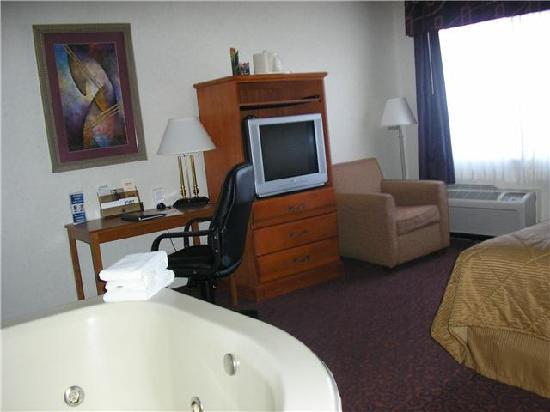 Comfort Inn University Center: Hot tub!