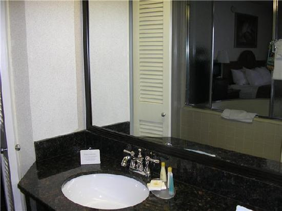 Comfort Inn University Center: Real granite countertops