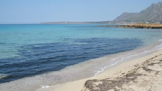 Riserva Naturale Orientata Monte Cofano: il mare del golfo di Castelluzzo