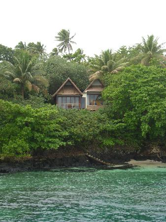 Royal Davui Island Resort: our bure from the sea